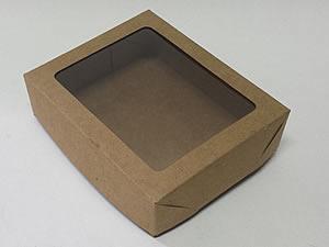 Caixa 12 Visor (Kraft)