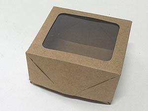 Caixa 4 Visor (Kraft)