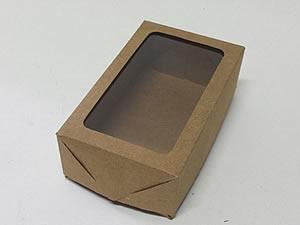 Caixa 6 Visor (Kraft)