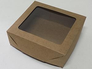 Caixa 9 Visor (Kraft)