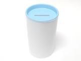 Cofrinho para Lembrancinhas Azul Claro Plástico