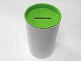 Cofrinho para Lembrancinhas Verde Claro Plástico