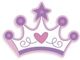 Convite Coroa Princesa Ref-6235