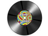 Convite Festa Disco Retrô Ref-6237