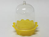 Cúpula Bailarina Amarela, Medidas: 5 x 5 x 5 cm