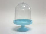 Cúpula 10cm Azul Claro, Medidas: 10 x 10 x 15 cm