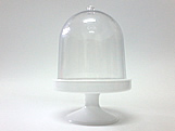 Cúpula 10cm Branca, Medidas: 10 x 10 x 15 cm