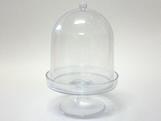 Cúpula 10cm Cristal, Medidas: 10 x 10 x 15 cm