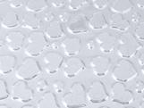 Placa de Textura Coração Ref.9376 BWB, Medidas: 50 x 24 x 0.2 cm