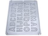 Forma Alfabeto Pequeno 80g Ref.708 BWB