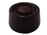 Forma Bombom Geométrico Círculo 11g Ref.9410 BWB, Medidas: 24 x 18.5 x 1.5 cm