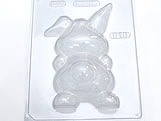 Forma com Silicone Coelha Gravida Costas 116g Ref.816 BWB