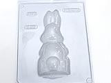 Forma com Silicone Coelha Gravida Pequena Costas 95g Ref.826 BWB
