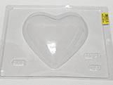Forma Coração 500g Ref.28 BWB, Medidas: 24 x 18.5 x 3.6 cm