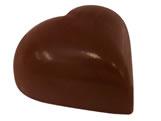 Forma com Silicone Coração Médio Liso 25g Ref.9416 BWB
