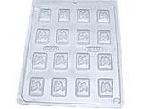 Forma Mini Tablete Coelho 8g Ref.218 BWB