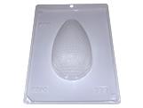 Forma com Silicone Ovo de Páscoa Texturizado Gotas 250g Ref.9340 BWB, Medidas: 24 x 18.5 x 5 cm