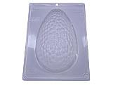 Forma com Silicone Ovo de Páscoa Texturizado Gouge 500g Ref.9330 BWB