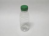Garrafa Plástica 300ml Verde Ref. GP300382, Medidas: 6.1 x 6.1 x 14.5 cm