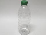 Garrafa Plástica 1Litro Verde Ref. GP1000382