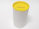 Cofrinho para Lembrancinhas Amarelo Plástico
