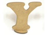 Letra Y Madeira MDF 15cm - Cod. 1090