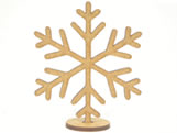 Recorte Floco de Neve MDF 3mm - Cod. 1279