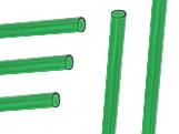 Palito para Pirulito Grande Verde Ref.289 BWB