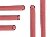 Palito para Pirulito Grande Vermelho Ref.290 BWB, Medidas: 0.43 x 0.43 x 28 cm