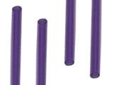 Palito para Pirulito Pequeno Roxo Ref.117 BWB, Medidas: 0.35 x 0.35 x 9 cm