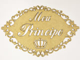 Placa Decorativa Meu Principe MDF 3mm - Cod. 966