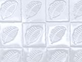 Placa de Textura Folhas Cacau Ref.9387 BWB, Medidas: 50 x 24 x 0.2 cm