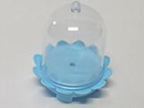 Cúpula Bailarina Azul Claro, Medidas: 5 x 5 x 5 cm
