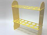 Suporte 24 Tubetes Amarelo