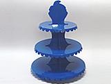 Suporte 3 Andares Azul Escuro