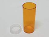 Tubo Pressão 40ml Ambar, Medidas: 3.1 X 3.1 X 7.8 cm