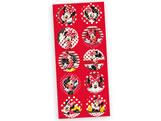 Adesivo Decorativo Redondo Red Minnie 30unid Regina Festas
