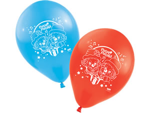 Bexiga Balão Latéx n9 Patati Patatá Parabéns 25unid Festcolor