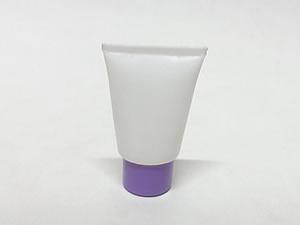 Bisnaga de Plástico 10g Branca com Tampa Lilas
