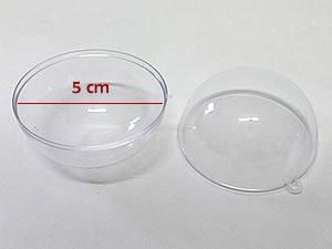 Caixa Bola Cristal 5cm