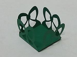 Caixeta Laço J-77 24unid Verde Musgo
