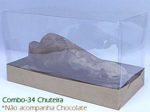 Choco Combo-34 KRAFT Caixa para Chuteira Chocolate BWB