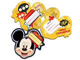 Convite de Aniversário Mickey Classico 08unid Regina Festas