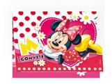 Convite de Aniversário Red Minnie 08unid Regina Festas