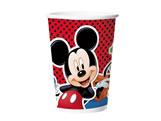 Copo de Papel Mickey Classico 180ml 08unid Regina Festas, Medidas: 7 x 4.5 x 8 cm