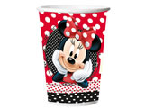 Copo de Papel Red Minnie 330ml 08unid Regina Festas