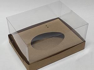 Choco Combo-11 KRAFT Caixa Páscoa 350g, Medidas: 18 X 14 X 9 cm