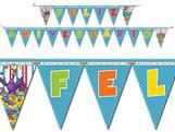 Faixa Feliz Aniversário Galinha Pintadinha Diversão Festcolor