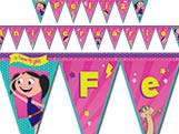 Faixa Feliz Aniversário O Show da Luna Festcolor