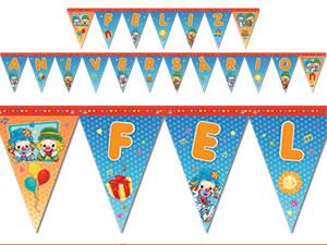Faixa Feliz Aniversário Patati Patatá Parabéns Festcolor